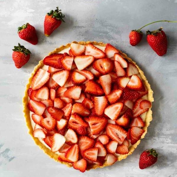 Recipe for Strawberry Tart