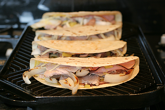 Cuban Quesadillas | www.tasteandtellblog.com