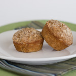 Applesauce Oatmeal Muffins | www.tasteandtellblog.com