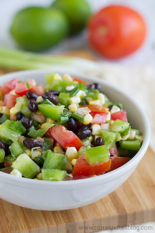 Black Bean, Corn and Tomato Salad
