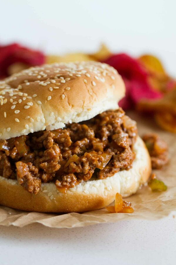 These Easy Sloppy Joes only take a few ingredients and are super easy to make on busy days when you don't feel like cooking dinner. And they are always a family favorite!
