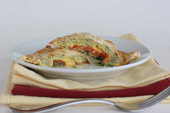Scrambled Egg Turnovers | www.tasteandtellblog.com