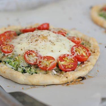Zucchini, Tomato and Egg Tart | www.tasteandtellblog.com