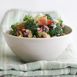 Broccoli Salad | www.tasteandtellblog.com