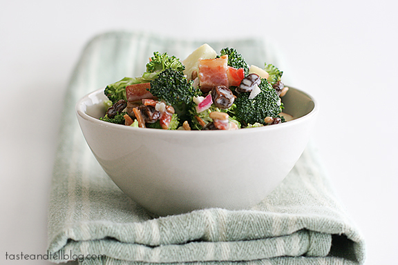 Broccoli Salad | www.tasteandtellblog.com