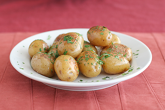 Caramelized Potatoes | www.tasteandtellblog.com