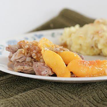 Chicken and Nectarines | www.tasteandtellblog.com