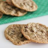 Chocolate Chip Crunch Cookies | www.tasteandtellblog.com
