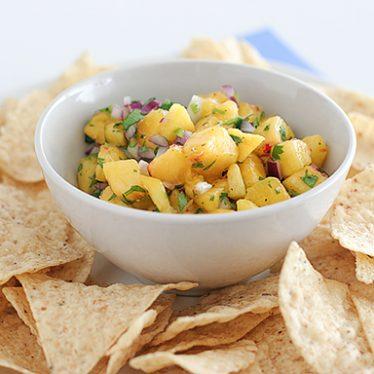 Nectarine Salsa | www.tasteandtellblog.com