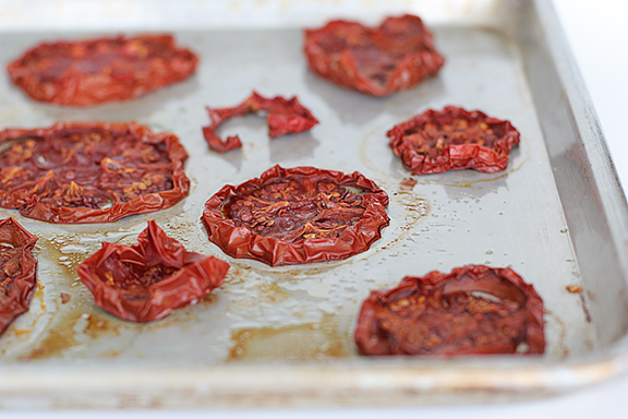Oven Dried Tomatoes | www.tasteandtellblog.com