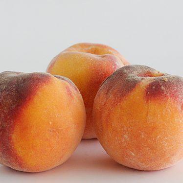 Peaches   www.tasteandtellblog.com