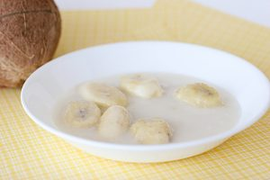 Bananas Simmered in Coconut Cream | www.tasteandtellblog.com
