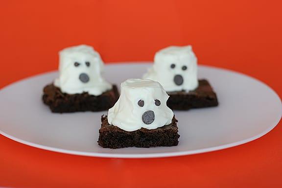 Boo Brownies | www.tasteandtellblog.com