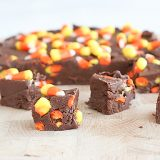 Candy Corn Fudge | www.tasteandtellblog.com