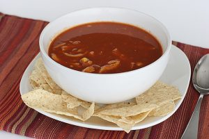 Chicken Enchilada Soup | www.tasteandtellblog.com