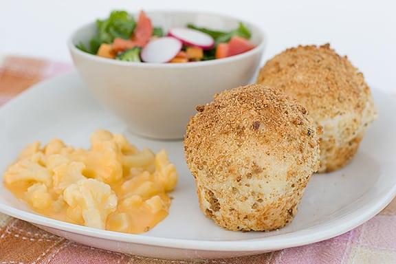 Chicken Filled Stuffing Rolls | www.tasteandtellblog.com
