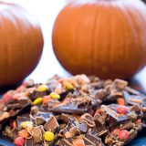 Halloween Candy Bark | www.tasteandtellblog.com