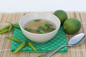 Hot and Sour Prawn Soup | www.tasteandtellblog.com