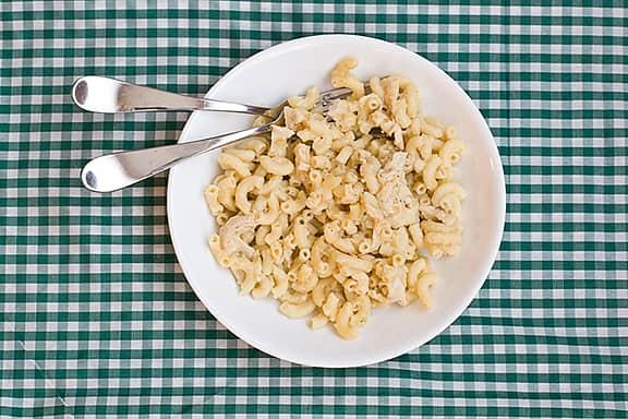 Mac N Cheese With Salsa Verde Taste
