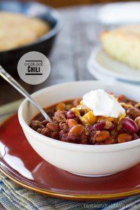 Crock Pot Chili on Taste and Tell