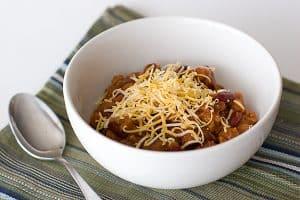 Crock Pot Chili | www.tasteandtellblog.com