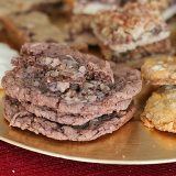 German Chocolate Thumbprint Cookies | www.tasteandtellblog.com