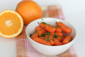 Orange-Ginger Carrots | www.tasteandtellblog.com