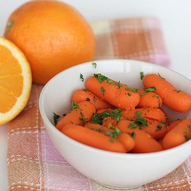 Orange-Ginger Carrots | www.tasteandtellblog.com