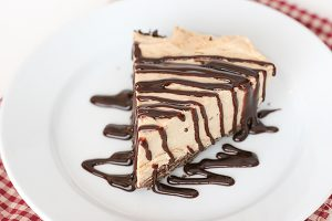 Peanut Butter Pie with Cookie Crust | www.tasteandtellblog.com