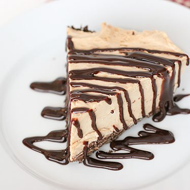 Peanut Butter Pie with Cookie Crust | www.tasteandtellblog.com
