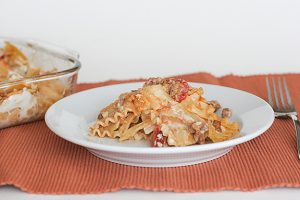 Sloppy Lasagna | www.tasteandtellblog.com