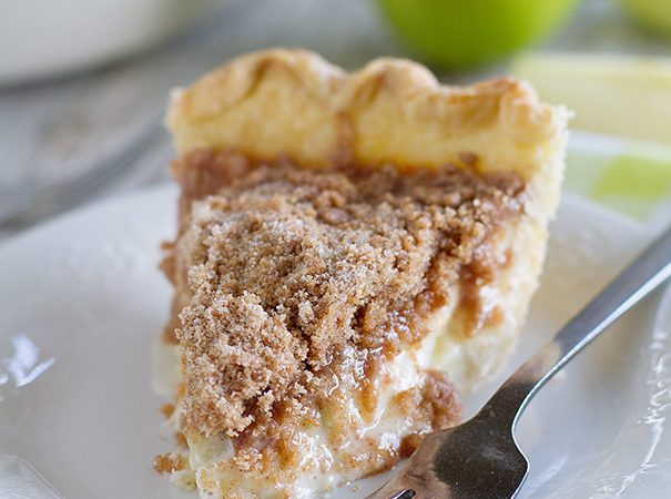 Sour Cream Apple Pie Recipe