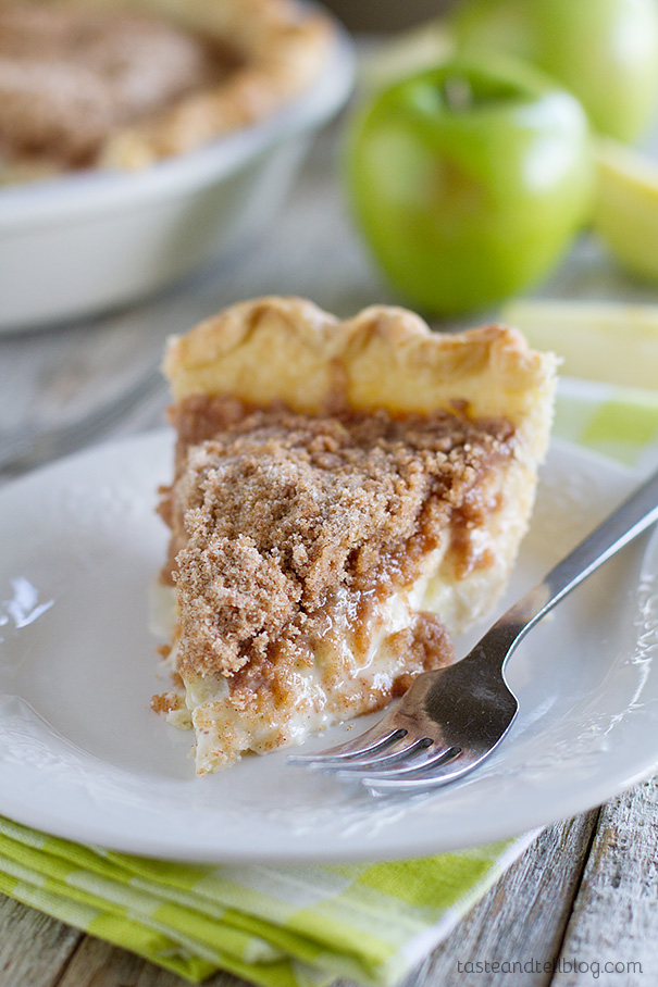 Sour Cream Apple Pie | Taste and Tell