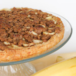 Cookbook of the Month Recipe – Banana & Hazelnut Tart