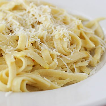Milanese Fettuccine Alfredo | www.tasteandtellblog.com