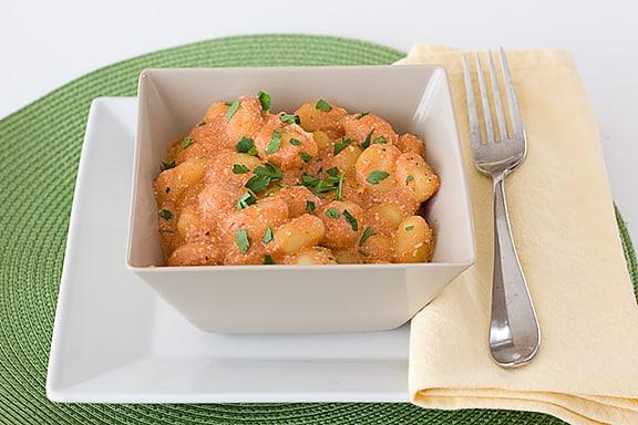 Ricotta Gnocchi with Tomato Sauce | www.tasteandtellblog.com