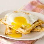 Saturdays with Rachael Ray – Sausage, Potato and Cheese Waffles