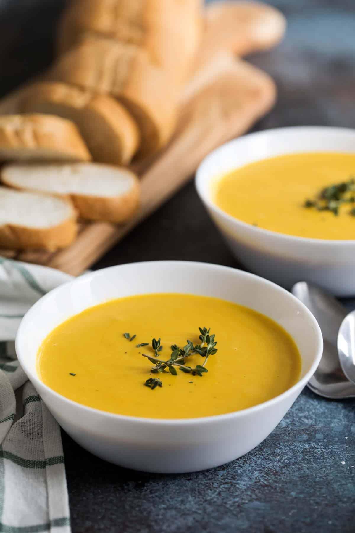 Slow Cooker Creamy Butternut Squash Soup Recipe Taste