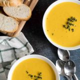 How to make Slow Cooker Creamy Butternut Squash Soup