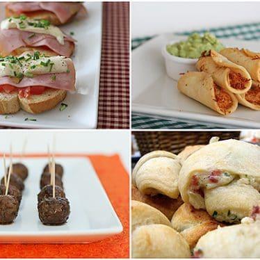 Appetizer Ideas   www.tasteandtellblog.com