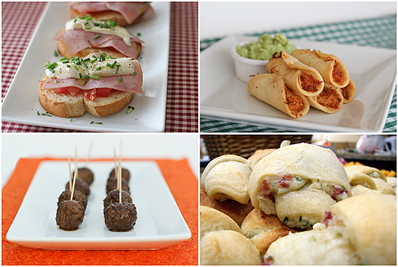Appetizer Ideas | www.tasteandtellblog.com