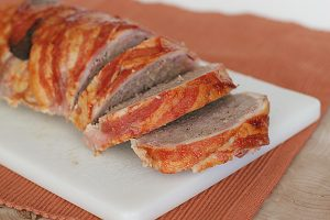 Bacon Wrapped Meatloaf | www.tasteandtellblog.com