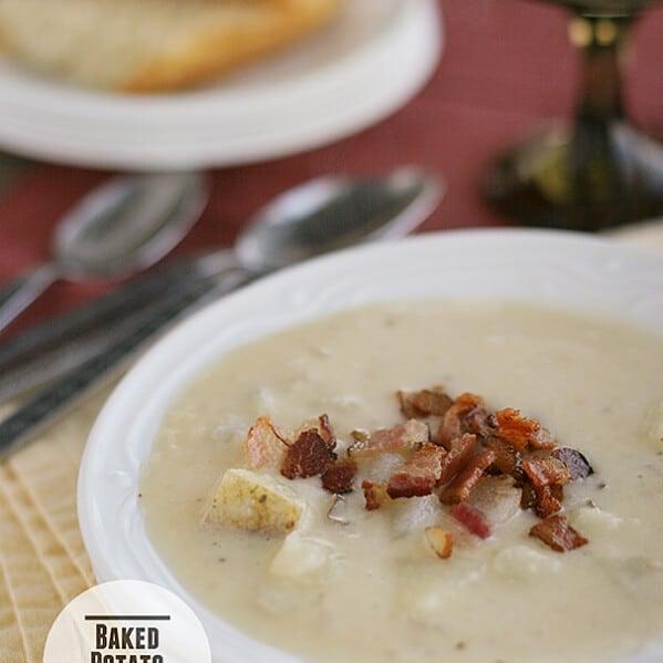 Baked Potato Soup | Taste and Tell