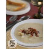 Baked Potato Soup | www.tasteandtellblog.com #recipe #soup #potato