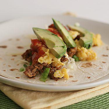 Breakfast Burritos | www.tasteandtellblog.com