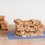 Chewy Tropical Granola Bars | www.tasteandtellblog.com