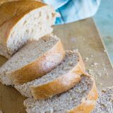 French bread doesn't have to be difficult - Grandma's Easy French Bread Recipe is soft and delicious and you'll never want to buy it from the grocery store again!