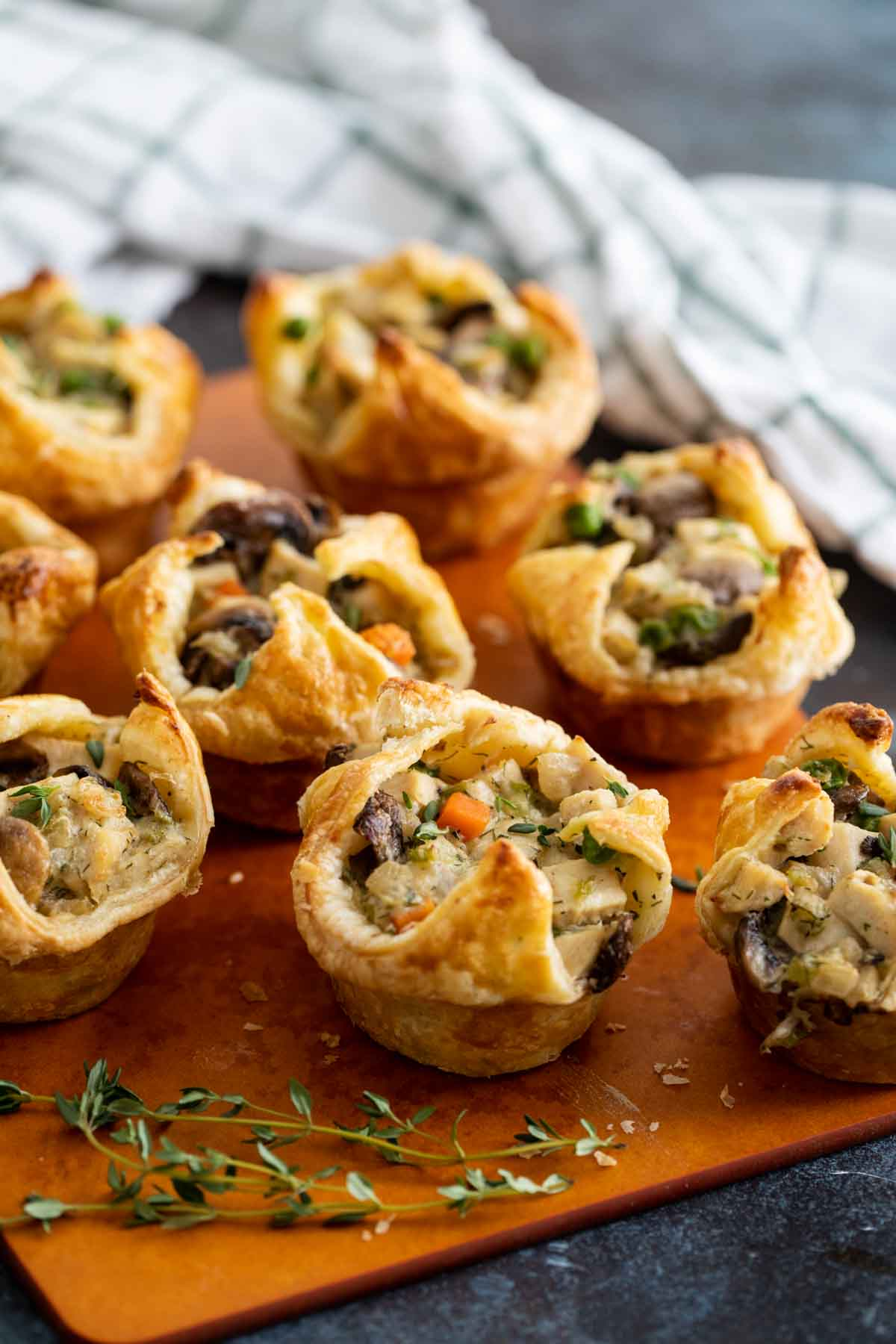 Mini Chicken Pot Pies Taste And Tell