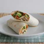 Thai Chicken Wraps with Spicy Peanut Sauce | www.tasteandtellblog.com