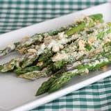 Easy Creamy Baked Asparagus   www.tasteandtellblog.com